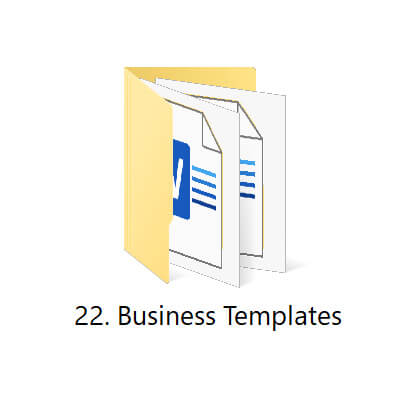 22 | Startup Business Toolkit | HR Toolkit | Ready to Use Templates for Busienss
