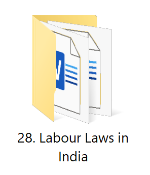 28. Labour Laws in India | Startup Business Toolkit | HR Toolkit | Ready to Use Templates for Busienss